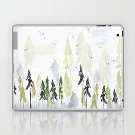 Into the woods woodland scene Laptop & iPad Skin