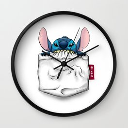 imPortable Stitch... Wall Clock
