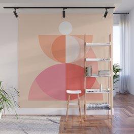 Abstraction_Geometric_Circles_MInimalism_001 Wall Mural