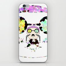 Monsieur Steams iPhone & iPod Skin