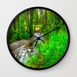 Arkansas Creek Wall Clock
