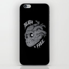 Death is Free iPhone Skin