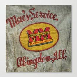 10688 Macs Service Canvas Print