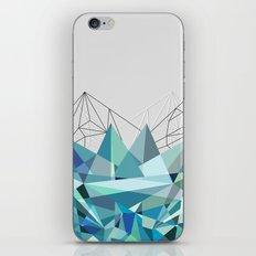 Colorflash 3 Turquoise iPhone & iPod Skin