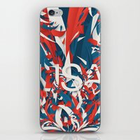 usa iPhone & iPod Skins featuring USA by Danny Ivan