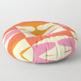Zaha Sixties Floor Pillow