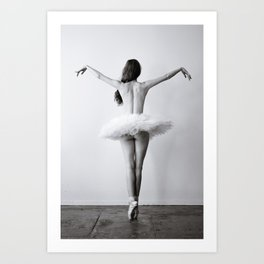 The Dying Swan Art Print