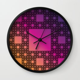 Wacław's Miracle Rug Wall Clock