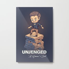 Unjenged: A Game's End Metal Print