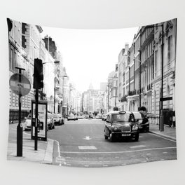 London street Wall Tapestry