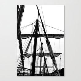 Ships Masts Canvas Print