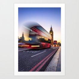 London moment Art Print