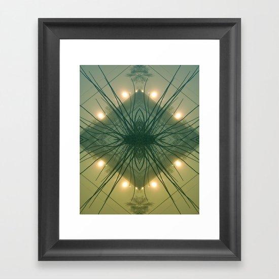 Quad Tree #3 Framed Art Print