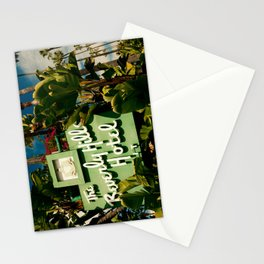 Classy Beverly Hills Hotel Mid Century Modern Neon Sign Stationery Cards