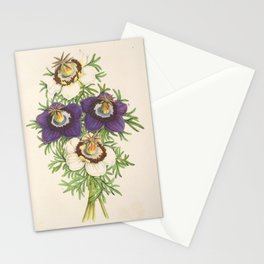 Flower nigella hispanica3 Stationery Cards