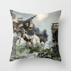 Astray Shooting Throw Pillow