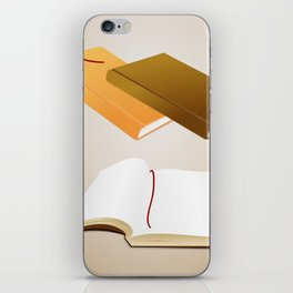 Book collection iPhone Skin