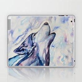 Wolf Howl Laptop & iPad Skin