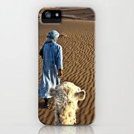 Sahara Journey Morocco iPhone Case