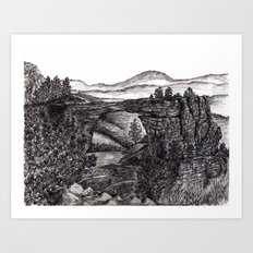 The Arch Art Print