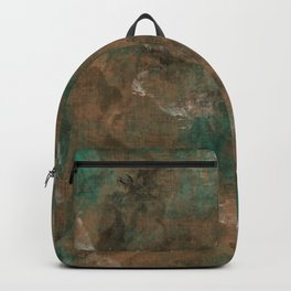 Patina Copper Backpack