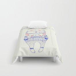 nine lives cat Comforters