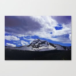 They don't lie when they say big sky country. Canvas Print