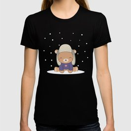 Kawaii Cute Winter Bear T-shirt