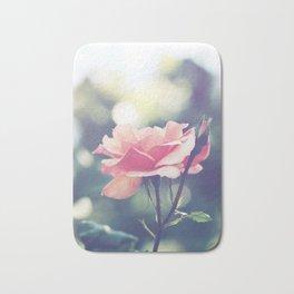 Romantic rose in bloom Bath Mat