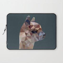 Geometric Alpaca Teddy Laptop Sleeve