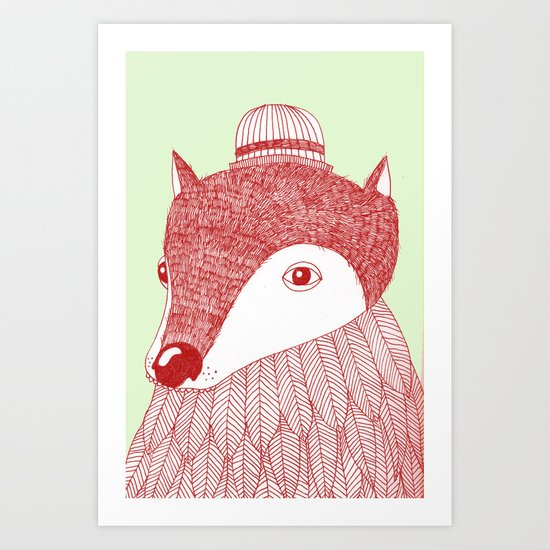 THE MOLE Art Print