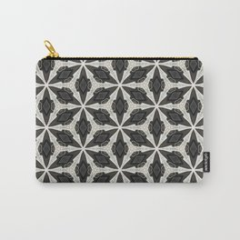 Openwork Abstract Pattern Carry-All Pouch
