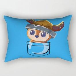 Viking Pepe! Rectangular Pillow
