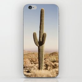 Giant Desert Cactus iPhone Skin