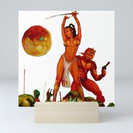 Battle for Mars Mini Art Print