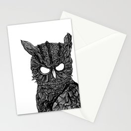 Demon Owl Stationery Cards