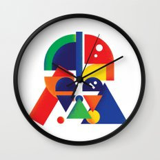 The Shape Side Wall Clock