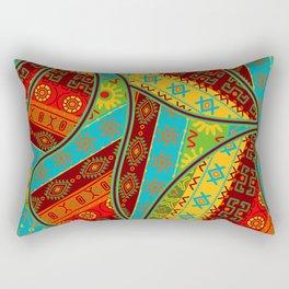Ethnic Tribal Pattern Art N6 Rectangular Pillow
