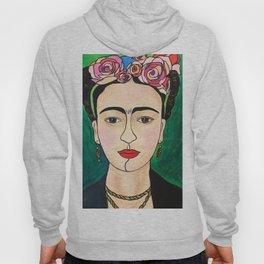 Frida Khalo Portrait Hoody