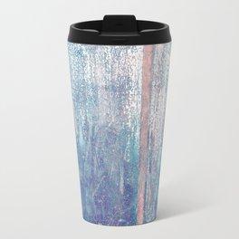 Metallic Face (Blue Version) Travel Mug
