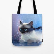 Fancy Ninja Cat Tote Bag