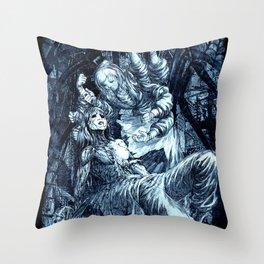 Arachne Throw Pillow