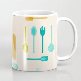 AFE Kitchen Utensils Pattern II Coffee Mug
