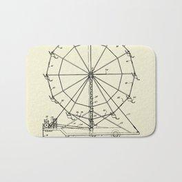 Portable Ferris Wheel-1952 Bath Mat