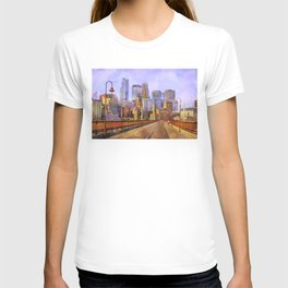 The city is calling my name today. T-shirt