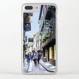 The Shambles, York Clear iPhone Case