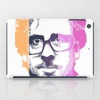 tim burton iPad Cases featuring TIM BURTON IN COLORS by BURRO