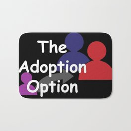 """The Adoption Option"" TV Show Logo Bath Mat"