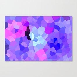 Purple Pink Amethyst - See Leggings! Canvas Print