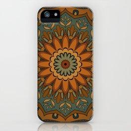 Moroccan sun iPhone Case